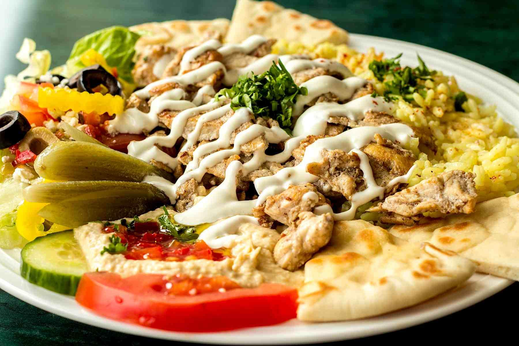 Shawarma Platter - $11.99
