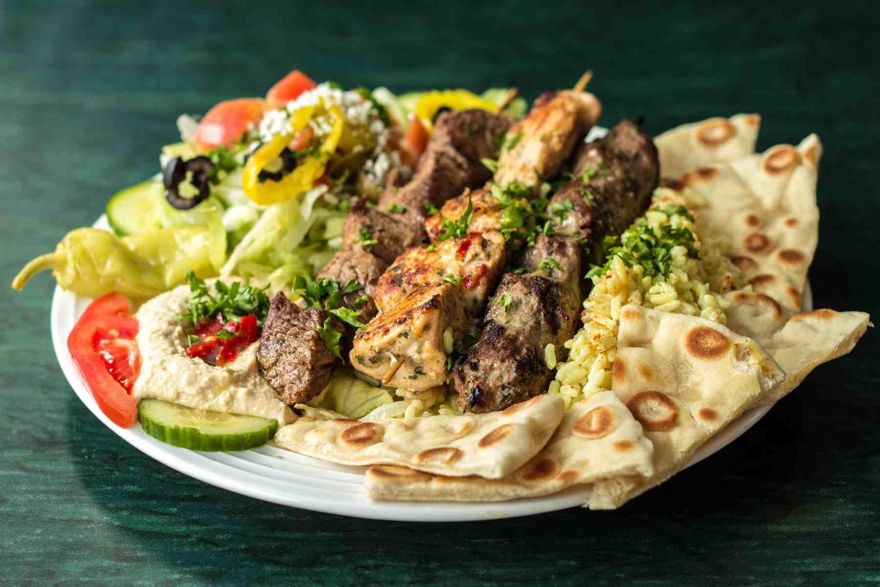Raleigh-Mediterranean-Restaurant-Mona-Pita-Platter-1