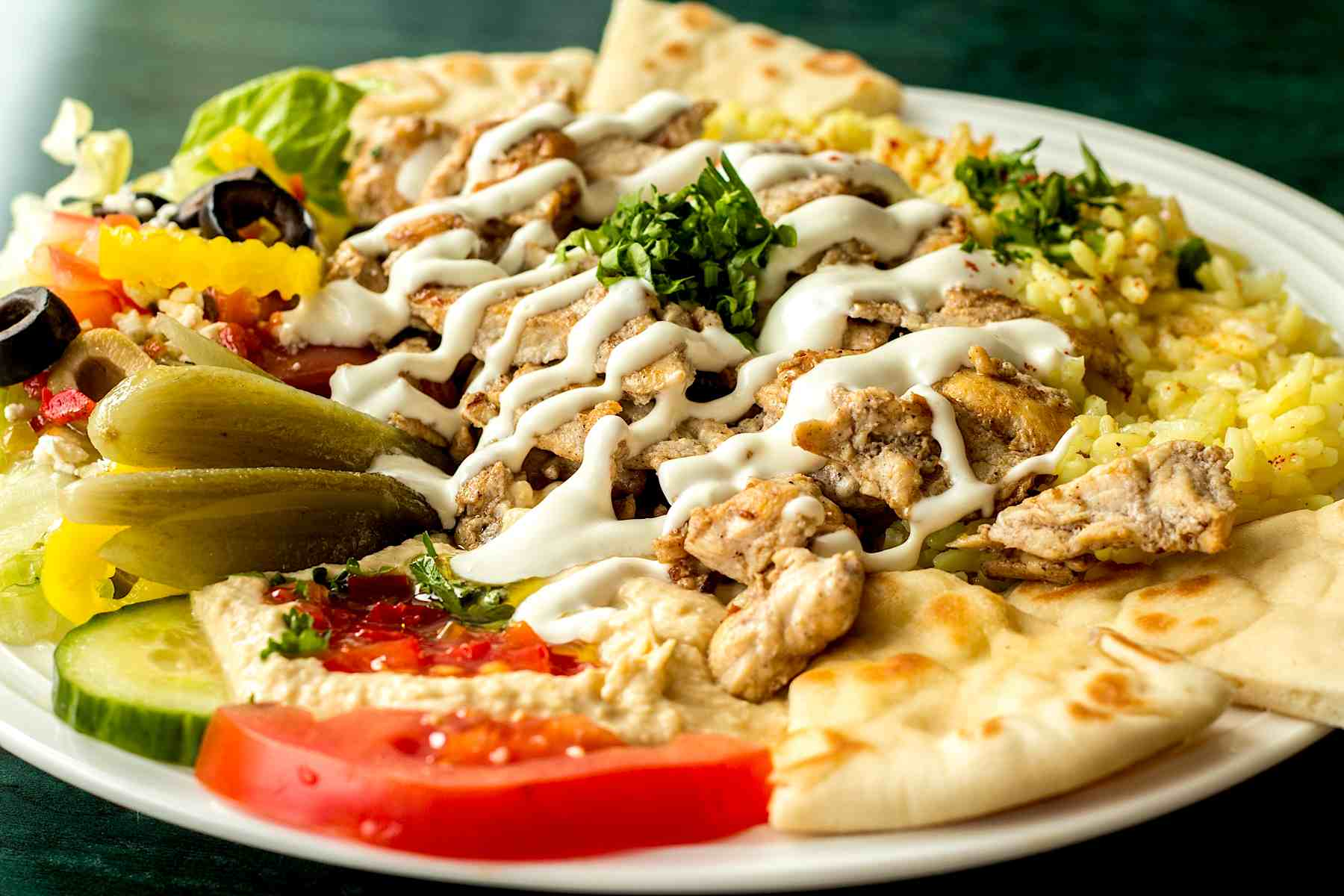 Raleigh-Mediterranean-Restaurant-Mona-Pita-Platter-2