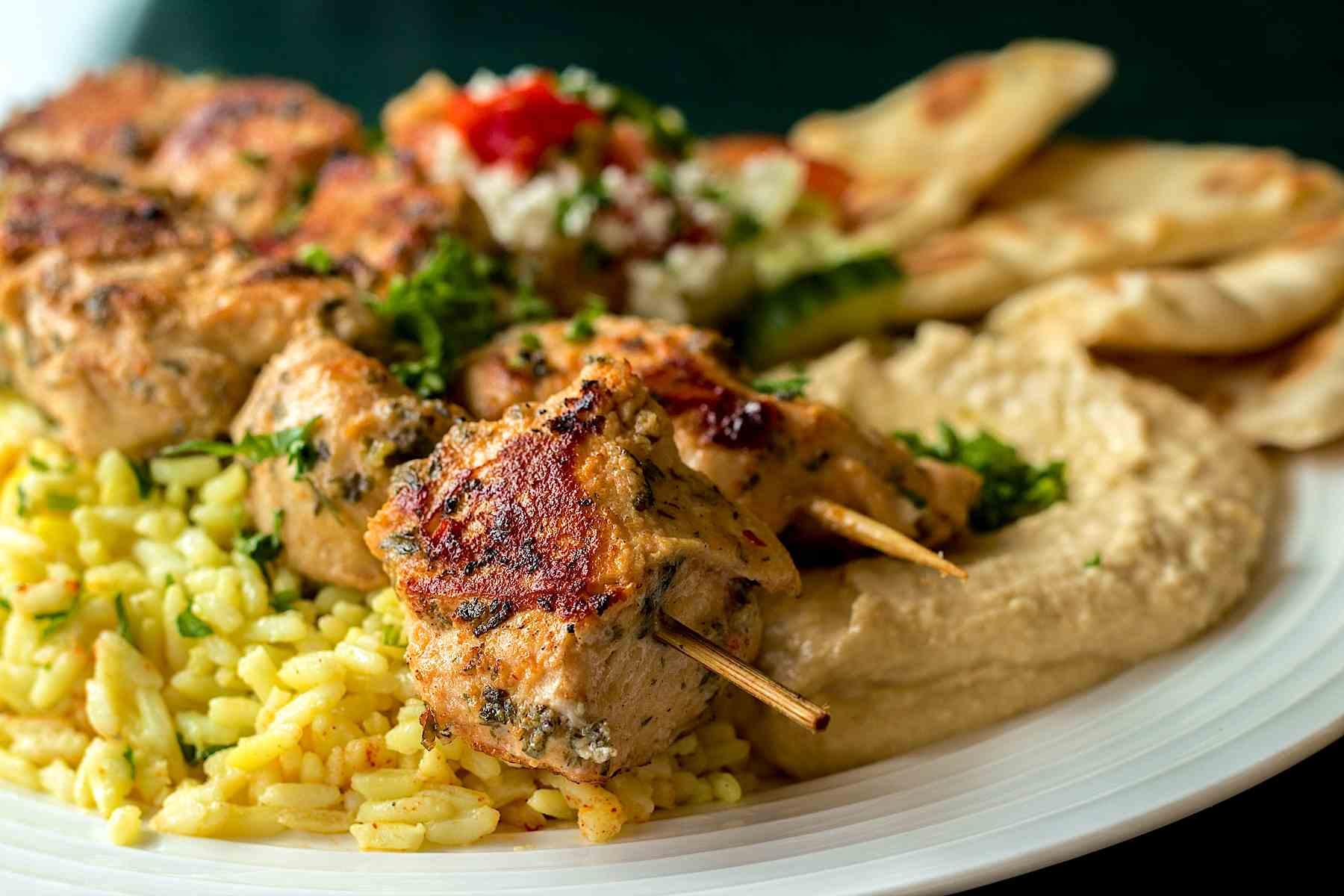 Raleigh-Mediterranean-Restaurant-Mona-Pita-Platter-7